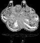 Preview: Baruna Silver Octopus pendant, Jewellery of sterling silver