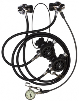 ScubaForce regulator Twin Tech Set I for tech diving