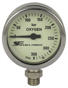 Scubaforce oxygen 360 bar