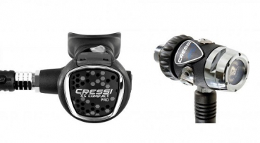Cressi regulator set MC9-SC / Compact Pro /Octopus Compact Pro