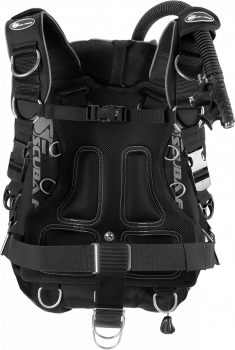 scubaforce black devil set deluxe grau
