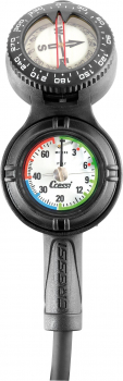 Cressi Console CPD3, Compass, Depth and Pressure in bar
