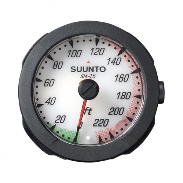 suunto depth gauge 230 ft