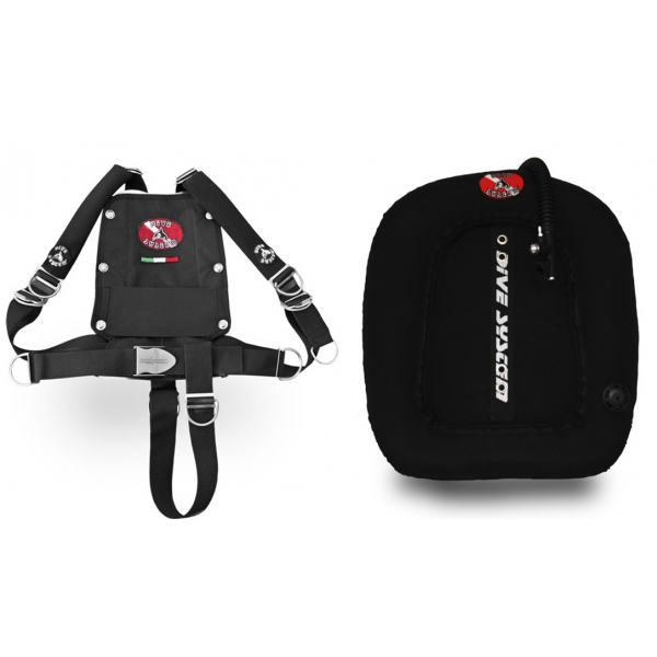 Dive System Harness mit Donout