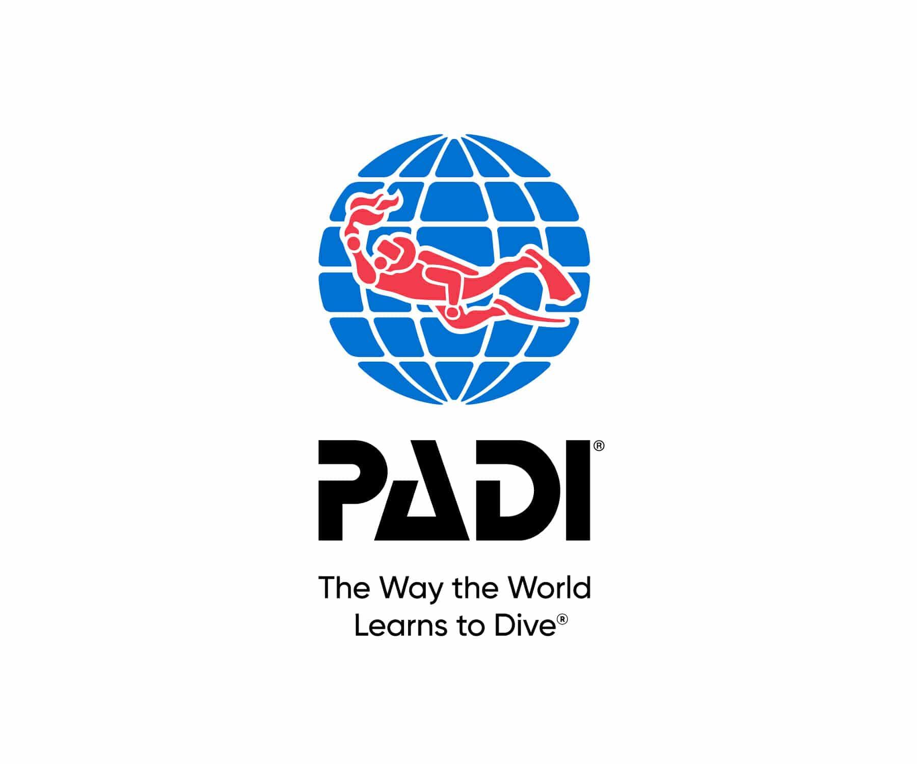 Logo von PADI