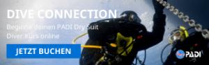 Spezialkurs Dry Suit bei Tauchsport Dive Connection